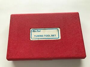 Nice Blue Point Tools Usa Tube Cutting And Double Flaring Set Red Case Tf 528 d