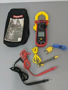 Amprobe Amp 330 Clamp Meter W accessories Leads Bag Amp330