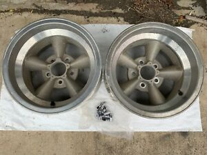 Vintage American Racing Torque Thrust Mag Wheels Rims 15x8 5 Chevy Gm J16843
