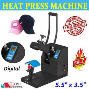 Heat Press Machine Cap Hat Sublimation Transfer Printing Machine Kits Us Plug