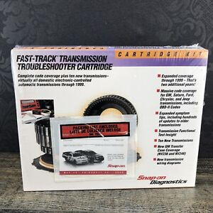 Snap On Fast Track Transmission Mt25006999 Troubleshooter Cartridge New Sealed