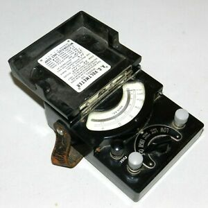 Vintage Weston Electrical Inst Corp Model 330 A c Voltmeter