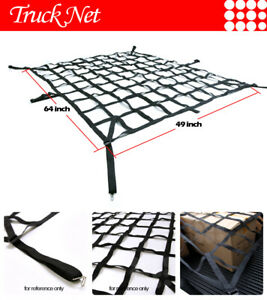Fit Toyota Pickup Truck Heavy Duty Cargo Net Extended Cab 6 5ft Bed Trailer Web