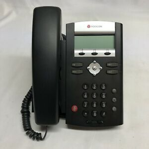 Polycom Lot Of 6 Soundpoint Ip 331 Phone W Handset Stand 2201 12365 001