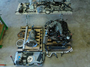 03 04 Ford Mustang Cobra 4 6l Dohc Engine T56 Drivetrain Good 86k Take Out G59
