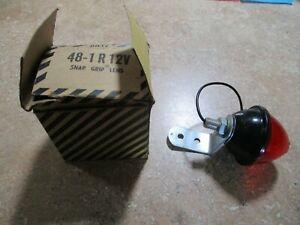 Vintage Autos 1967 Dietz Motor Light 178 12v Red Tail Light New In Box