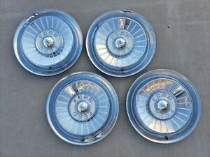 Vintage 1957 Ford Car 14 Hubcap Wheelcover Center Cap Free Shipping