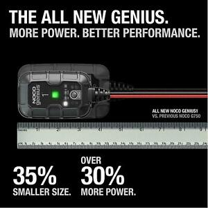 Noco Genius1 Battery Charger And Maintainer 1 Amp 6 12 Volt New In Bx Ships Free