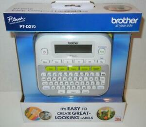 Brother P touch Pt d210 Label Maker Labeler One Touch Keys Various Font Styles