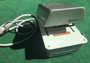 Vintage Amano Numberex Time Card Puncher Model 2140