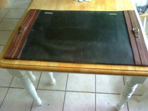 Antique Leather Desk Mat desk Pad