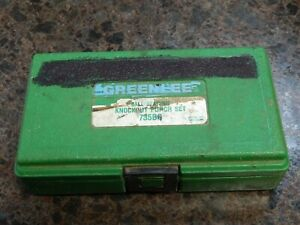 Green Lee Ball Bearing Knockout Punch Set 735bb
