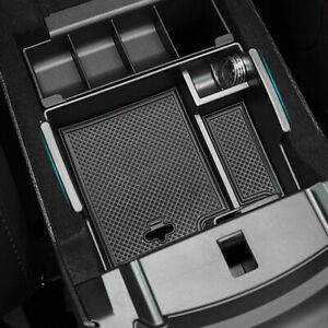 Armrest Storage Box Tray For Ford Explorer 2011 2018 Center Console Container