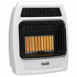 Dyna glo Irss18lpt 2p Liquid Propane Infrared Vent Free Thermostatic Heater