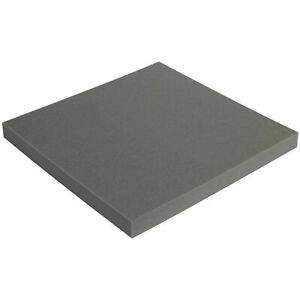 1 x24 x24 Charcoal Soft Foam Sheets 12 Pack