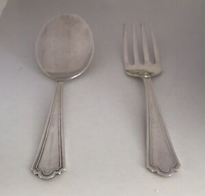 Webster Sterling Silver Baby Spoon And Fork No Monogram