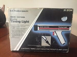 Sears Vintage Inductive Timing Light Box