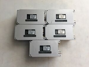 Maxon Sd 174ex Uhf Data Radio 450 490 Mhz 5 1 W 16 Channels dip Lot Of 5