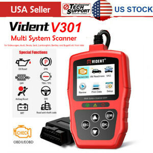 Usship Obd2 Diagnostic Scanner Code Reader Vident V301 For Vw Audi Skoda Seat