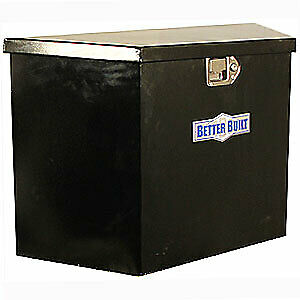 Better Built 66212324 Utility Trailer Tongue Tool Box Black Powdercoated Steel 1