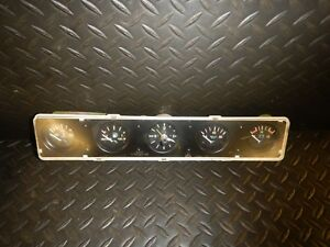 Jeep Wrangler Yj 87 91 Dash Instrument Center Gauge Cluster Free Ship