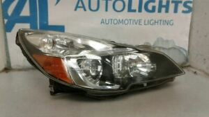 Passenger Right Headlight Black Inner Accent Fits 13 14 Legacy 103587