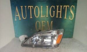 Driver Left Headlight Fits 03 07 Accord 67924