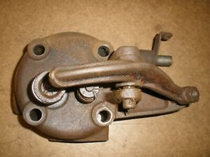 Economy Xk Cylinder Head 1 1 2hp Throttle Governed Gas Engine Antique Vintage