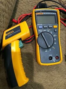 Click For Larger Image Fluke 116 62 Max True rms Ac dc Hvac Multimeter With In