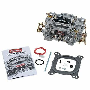 Edelbrock 1904 Avs2 Carburetor 500 Cfm Manual Choke Dual Quad Applications Squar