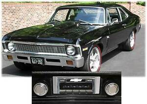 Usa 630 Ii 300 Watt 1968 1976 Chevy Nova Am Fm Stereo Radio Ipod Usb Aux Inputs