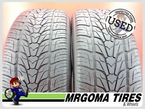 2 Nexen Rodian Hp Xl 255 50 20 Used Tires 8 6 32 Rmng No Patch 109v 2555020