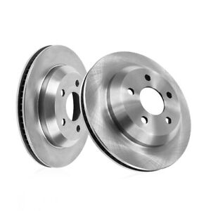 For 2013 2014 Ford Mustang Shelby Gt500 Rear Brake Disc Rotors