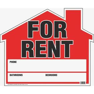 Hy ko Corrugated Plastic Sign House For Rent Rs 901 Pack Of 5