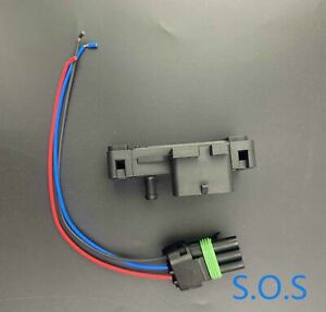 New 12223861 Fits For Various Gm Models 3 Bar Map Sensor W Connector Pigtail Us