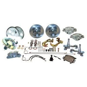 Ssbc A123 4 Front Drum To Disc Brake Conversion Kit