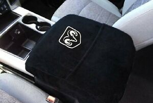 Fits Ram Trucks 2014 2021 Official Ram Logo Embroidered Console Cover C2sa