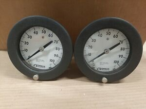 Omega Engineering Inc Test Gauge Psi Pressure Guage 0 To 100 Q 8455