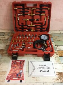 Betooll Pro Quality Fuel Injection Pressure Tester Kit