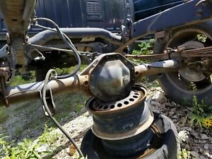 02 05 Dodge Ram 1500 Rear Axle Assembly 3 55 Ratio 101k Oem 2wd Free Shipping