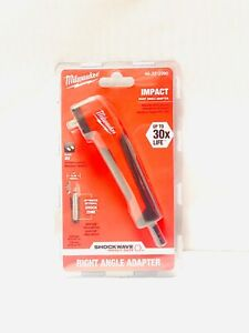 Milwaukee 48 32 2390 Shockwave Right Angle Adapter New