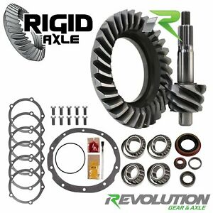 4 10 Ring Pinion Revolution Gear Ford 9 69 Older 28 Spline Timken Master Kit