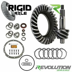 4 10 Ring Pinion Revolution Gear Ford 9 1962 1986 W Daytona Timken Kit