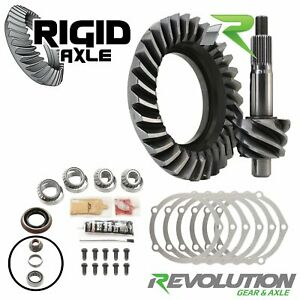 4 10 Ring Pinion Revolution Gear Ford 9 70 Up 10 Bolt Timken Master Kit