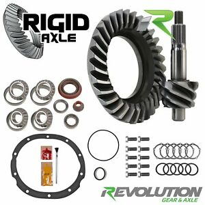 4 10 Ring Pinion Revolution Gear Ford 9 69 Older 31 Spline Timken Master Kit