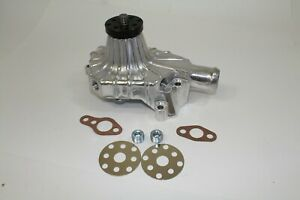 Sb Chevy Short Water Pump Sbc 283 327 350 High Volume Aluminum Gm Finned