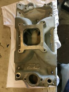 Edelbrock Victor Jr Intake Manifold For Small Block Chevy