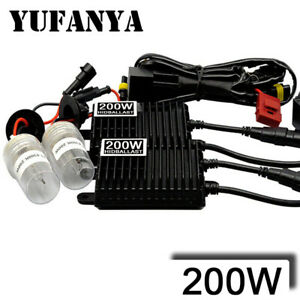 200w Ballast Hid Xenon Light Bulb 12v H1 H3 H7 H8 H9 H11 9005 9006 Headlight Kit