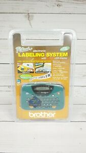 Brother P touch Electronic Labeling System Pt 65 Original New Sealed In Package