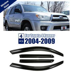 Window Visor Rain Guard Fit Toyota 4runner 2003 2004 2005 2006 2007 2008 2009